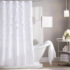 Unique Bathroom Shower Curtains White Shower Curtains You Ll Wayfair