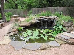 Diy Backyard Ponds Backyard Build Backyard Pond And Waterfall Home Design Garden