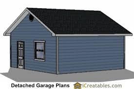 Victorian Garage Plans 22x20 Garage Plans Icreatables Com