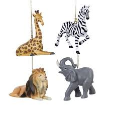 club pack of 12 giraffe zebra and elephant zoo animal