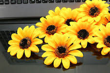 wedding flowers sunflowers sunflowers artificial wedding flowers petals garlands ebay