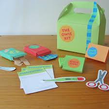 printable first aid kit pdf paper craft