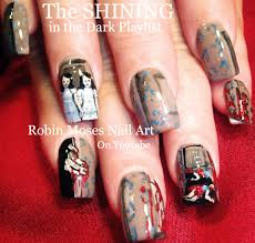 scary movie nails horror film nails scary nail art scary diy