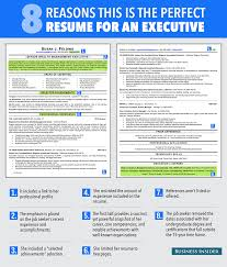 Perfect Resume Layout Ideal Resume For Someone With A Lot Of Experience Business Insider