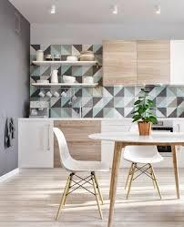 papier peint lutece cuisine le papier peint géométrique en 50 photos avec idéеs