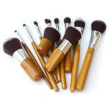 11pcs professional makeup brush cosmetic brushes tools kit