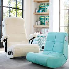 Recliner Chair With Speakers Suede Mini Rocker Speaker Chair Pbteen