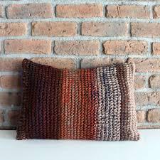 Lumbar Pillows For Sofa by Knit Pillow Cover Striped Cushion Pillow Lumbar Pillow