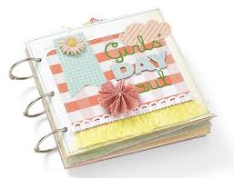 small scrapbook album day out mini album scrapbooking holidays celebrations