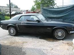 1969 Mustang Black Facebook