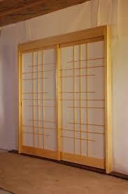 Shoji Sliding Closet Doors Sliding Closet Doors Ideas Shoji Screens For Sliding Glass Doors