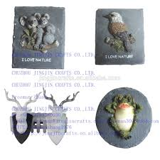 resin home decoration deer head 2016 spring selling 3d wall