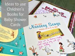 baby shower notes digicrumbs baby shower card idea a children s book makes a
