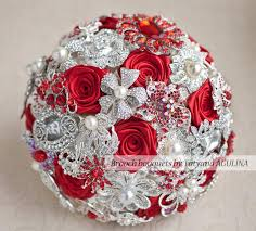 quinceanera bouquets brooch bouquet ivory and wedding brooch bouquet jeweled
