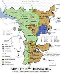 Crater Lake Oregon Map by Indian Peaks Wilderness 2 Day 1 Night Backpacking Trip To Mirror