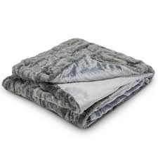 Faux Fur Throw Grey Christor Decor All Products Catalog Christordecor Com