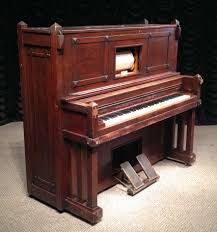 Craftsman Style Autopiano Craftsman Style Player Piano The Antique Piano Shop