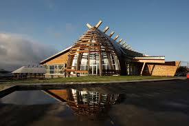 contemporary style architecture contemporary architecture at its best cree cultural institute in