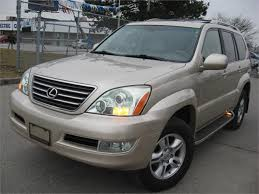 used lexus gx for sale in usa used 2006 lexus gx 470 for sale in north york ontario carpages ca
