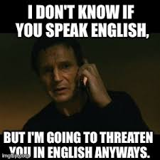 Speak English Meme - memes accessrush