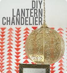 Diy Vintage Chandelier Candle Lantern To Chandelier In 3 Easy Steps U2022 Vintage Revivals
