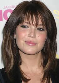 medium length bob hairstyles with bangs and medium short layered
