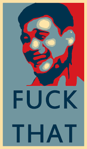Fuck That Meme - yao ming fuck that meme obama hope style by lzjoz on deviantart