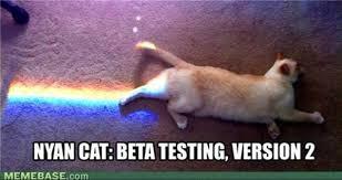 Keyboard Cat Meme - remember nyan cat viewed 96 million times someone s using it