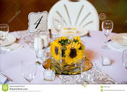 wedding table centerpieces with flowers stock photo image 40551920