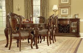 markor furniture old world formal dining room group dubois