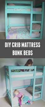 Crib Mattress For Toddler Bed My Deers Mini Toddler Bunk Beds S H A R E D S P A C E