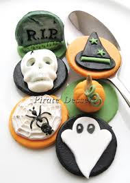 Halloween Cake Supplies Edible Halloween Cupcake Toppers Halloween Cupcakes