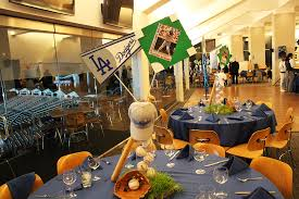 baseball centerpieces centerpieces the focal point of the table joe diamond events