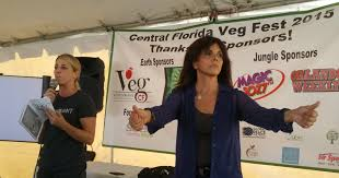 after the jane velez was cancelled what does she do now with her time 2015 central florida veg fest amazing ladies julie watkins and