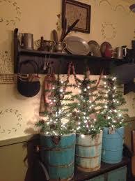 primitive early american christmas trees great handmade easy diy