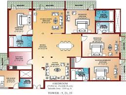 download 4 bedroom luxury apartment floor plans buybrinkhomes com