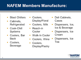 Refrigerated Cabinets Manufacturers Negative Impacts Of Epa U0027s Snap Regulation 2 Who Is Nafem The