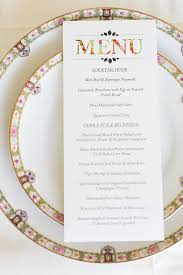 menu cards for weddings menu cards wedding baltimore invitations