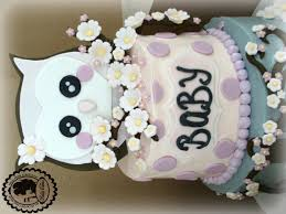 baby shower owl cakes baby shower cake baby owl cake patty cakes