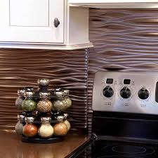 Fasade Kitchen Backsplash Panels Brushed Nickel Backsplash Available At Diy Decor Store