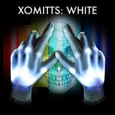 Light Up Gloves Xbone Xo Mitt Led Gloves White Leds Rave Light Up Halloween