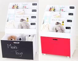 Toybox With Bookshelf Write On Storage Hip Kids Oscar Bookshelf