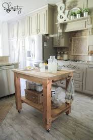Kitchen Island With Wheels 13 Free Kitchen Island Plans For You To Diy