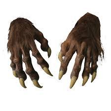 werewolf halloween costume ideas werewolf hands werewolves and products