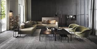 molteni divani divano modulare moderno in tessuto 3 posti paul by vincent