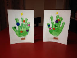 hand up with christmas paper craft ideas for toddlers tree