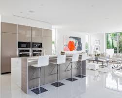 open kitchen design ideas lofty design of open kitchen via homeportfolio open shelves