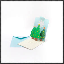 printable christmas pop up card templates christmas christmas tree pop up card free papercraft download