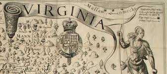 Map Of Virginia Cities Map Of Colonial Virginia Virginia Map