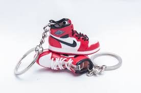 red key rings images Nike air jordan 1 retro white red 3d keyring kool keyringskool jpg